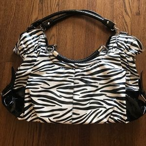 Fun and Flirty Zebra Satchel